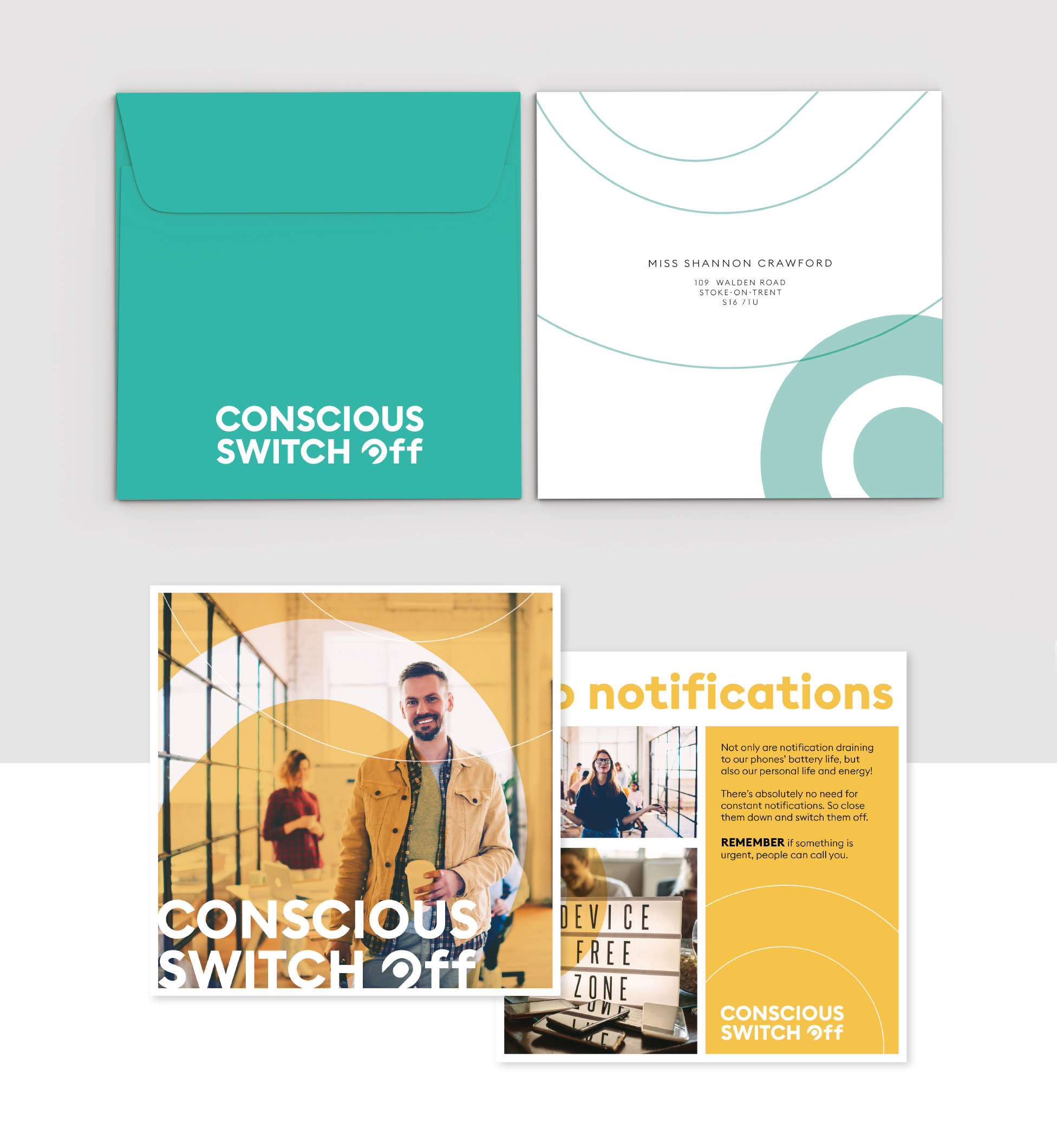 Advice and guidance leaflet for conscious switch off