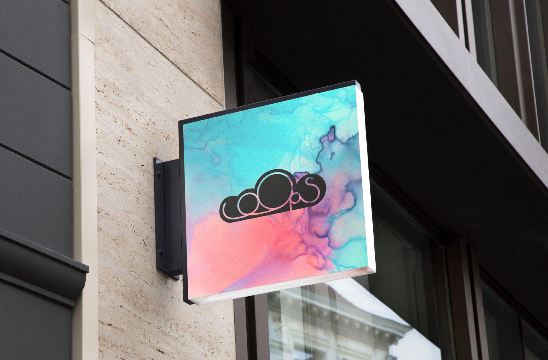 Exterior store signage