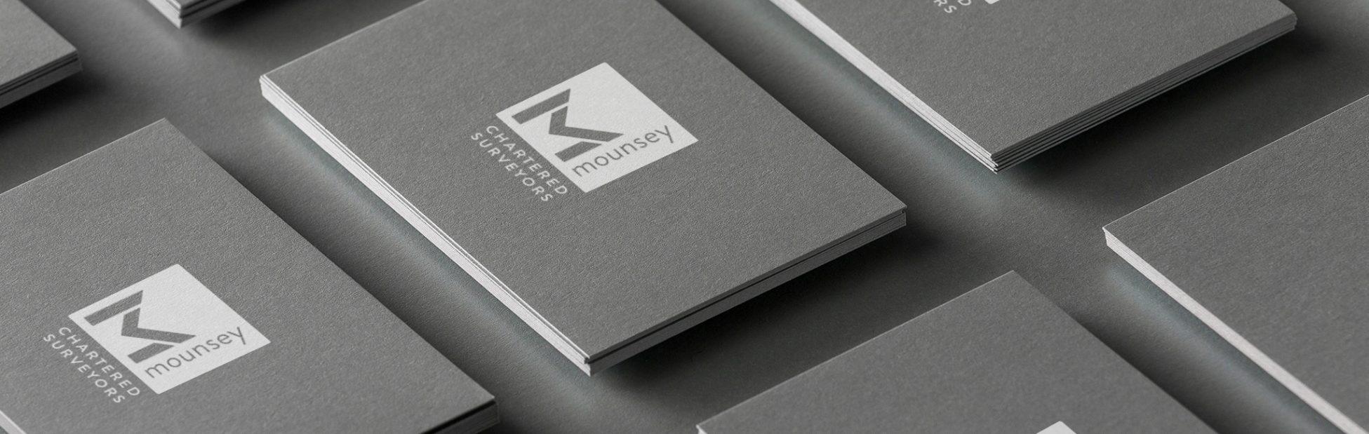 Mounsey Business card header