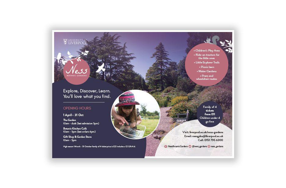 Ness Gardens Explore flyer