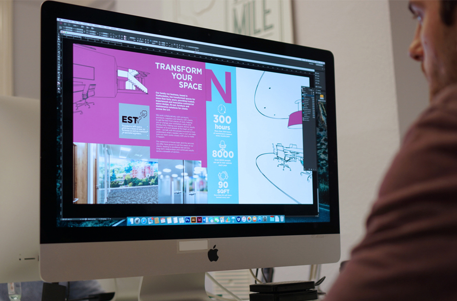 POI case study page photograph of studio 2
