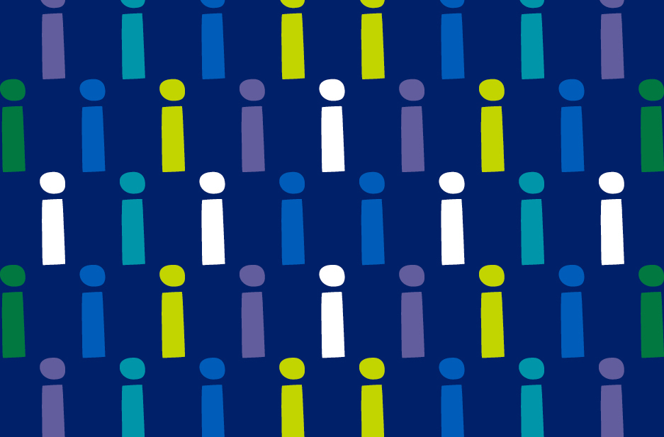 Together Active brand graphic pattern