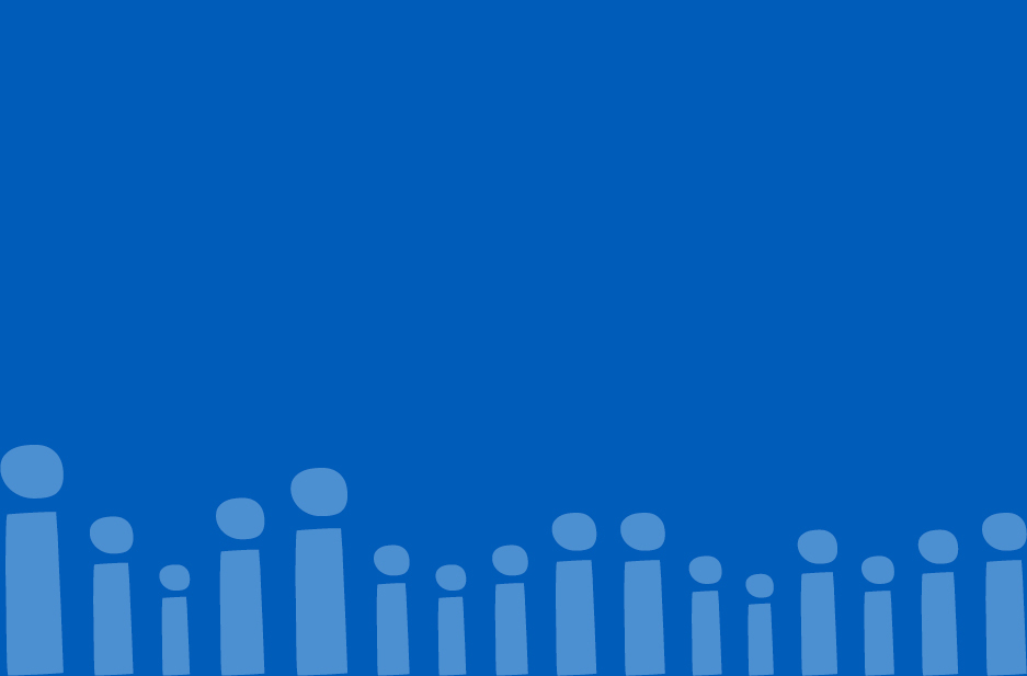 Together Active brand graphic pattern in blue