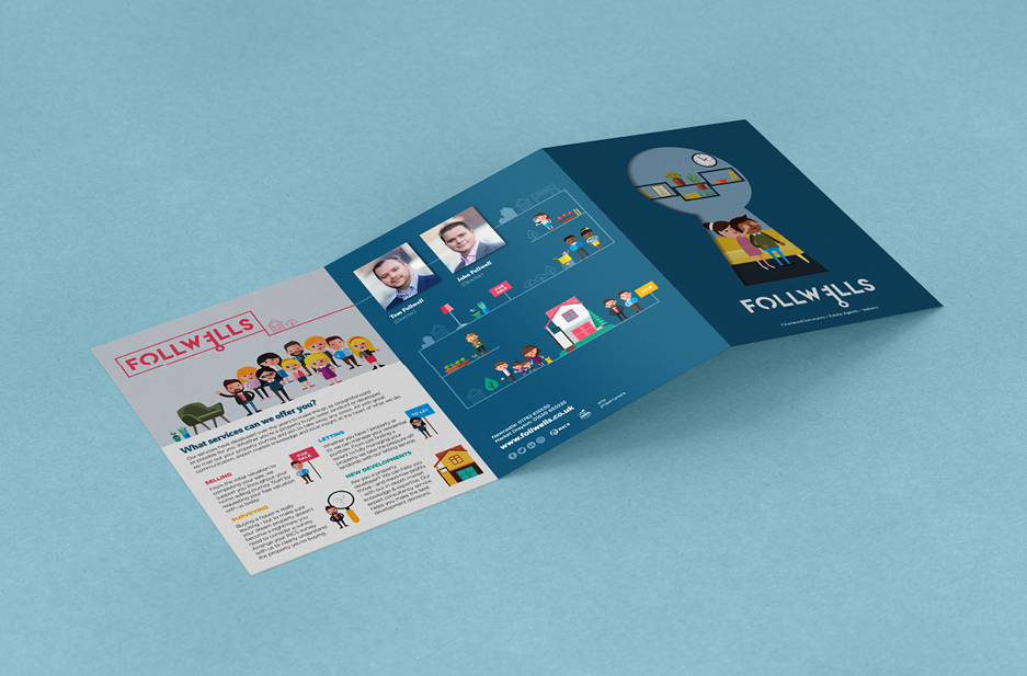Follwells Customer brochure 3 fold front