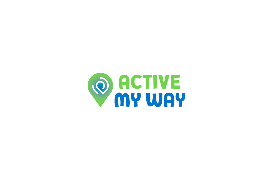 Together Active sub brand Logo 'Active my way' on white