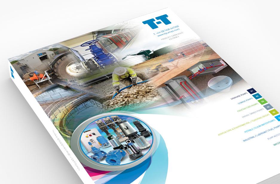 t-t pumps catalogue cover