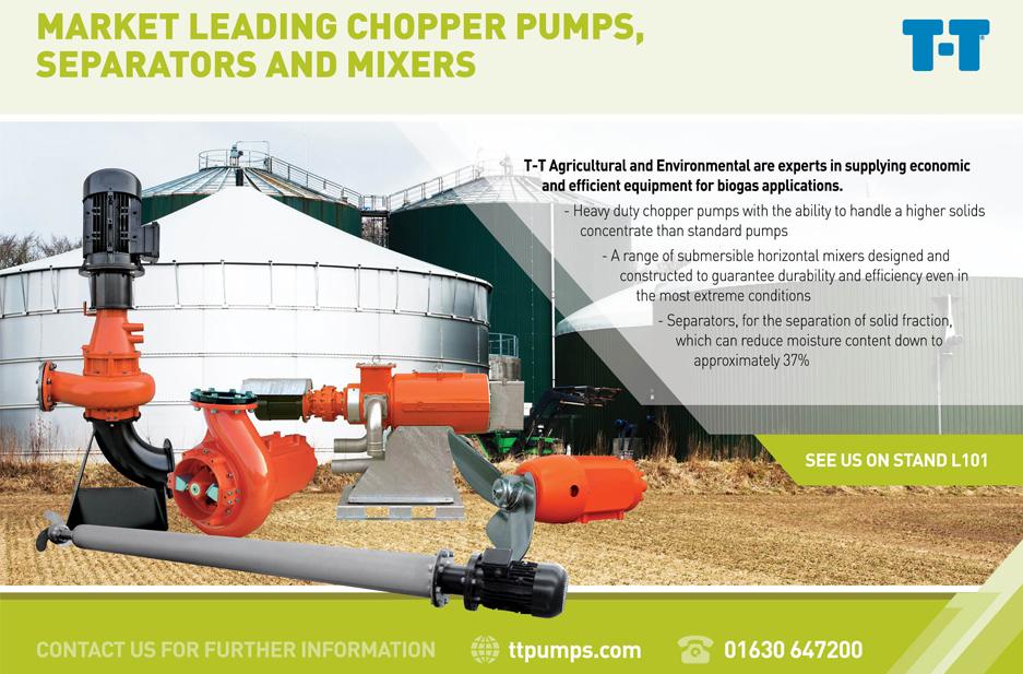 T-T Pumps exhibition guide advert