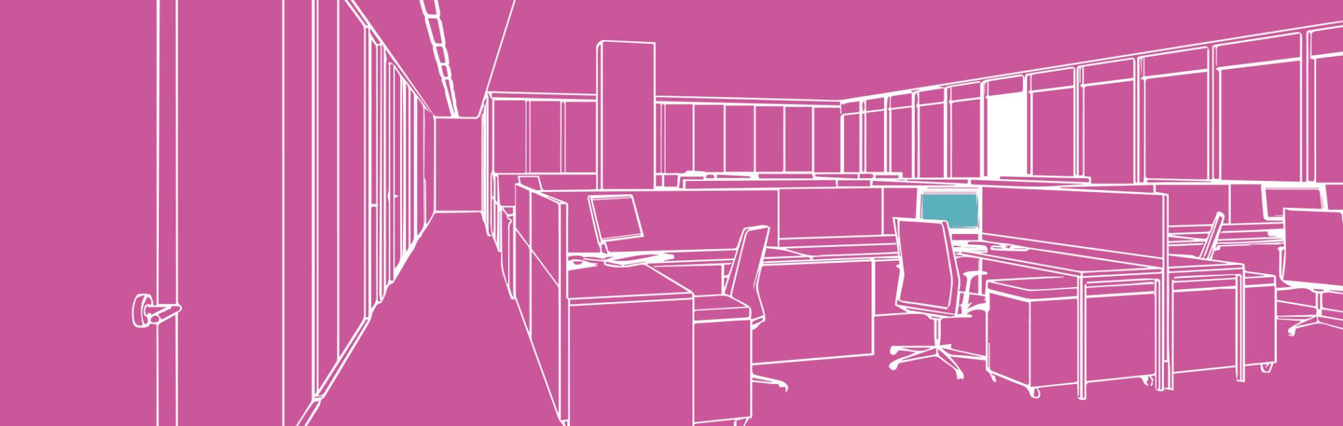 POI case study page office illustration
