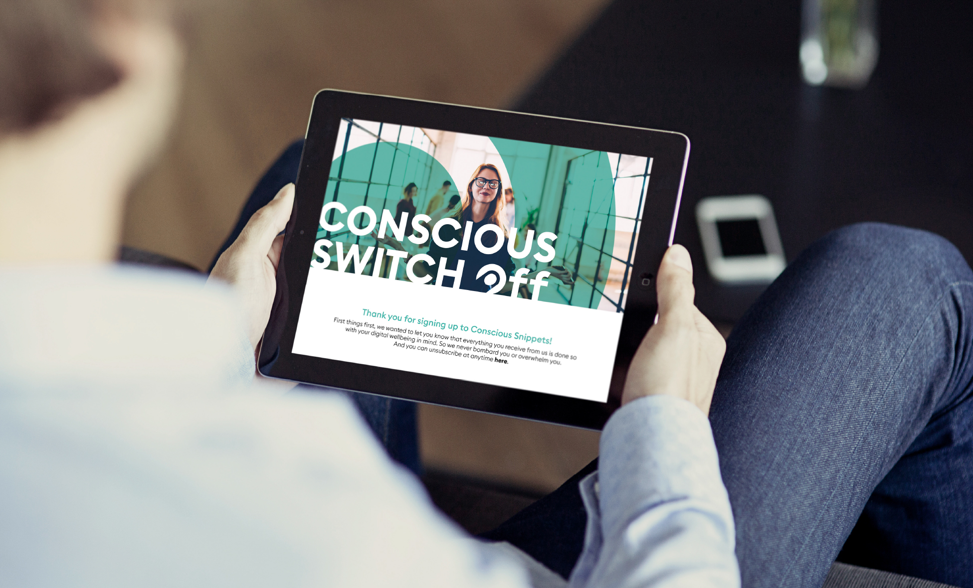 Conscious switch off - Digital communication